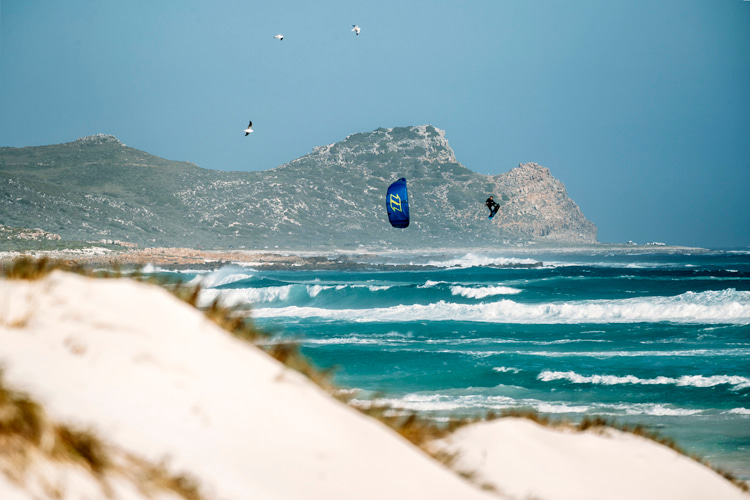 Kiteboarding: Graham Howes started fighting depression in his 30s   Photo: Dirty Habits