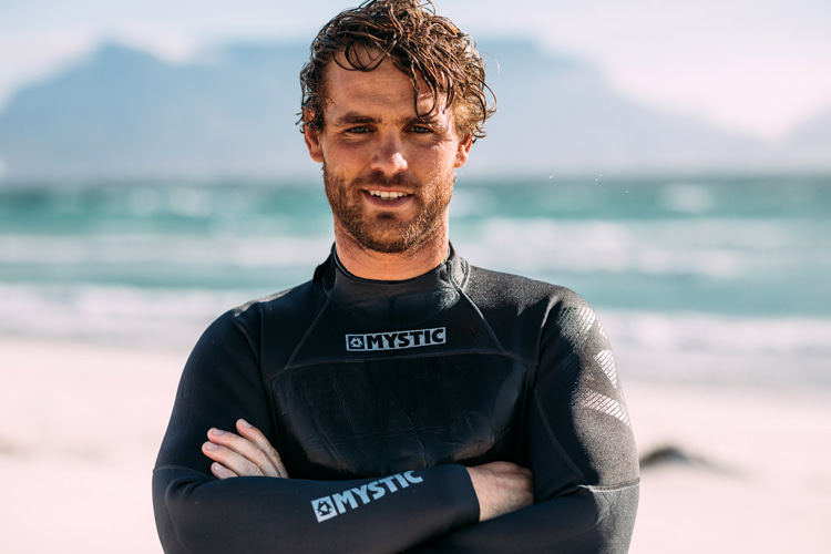 Graham Howes: the kiteboarders believes it's time athletes start caring for their minds   Photo: Dirty Habits